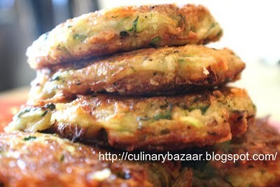 Healthy Zucchini Patties