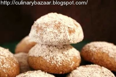 Polvorones Con Canela (Mexican Wedding Cookies)